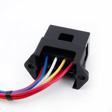 4 Way DC32V Circuit Car Trailer Auto Blade Fuse Box Block Holder ATC ATO 2-input 4-ouput Wire