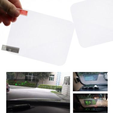"""Heads Up Display HUD Film schützende reflektierende Bildschirm 4,7 """"* 3,5"""""""