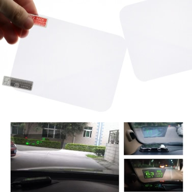 """Heads Up Display HUD Film schützende reflektierende Bildschirm 5,9 """"* 4,9"""""""