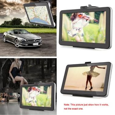 Touch Screen 7inch 1080P HD beweglicher GPS-Nautiker mit rückseitiger Unterstützung + freier Karte