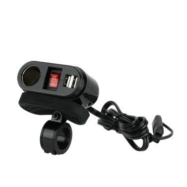 WUPP Car Cigarette Lighter Socket Dual USB Port Charger Power Adapter Outlet 12V