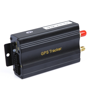 2SIM/GPRS/GPS/GSM Vehicle Car Tracker Real-time Tracking Alarm System Google Map 103A+