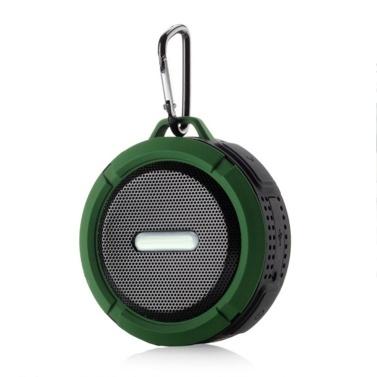 Wasserdichter BT-Außenlautsprecher, tragbarer drahtloser Lautsprecher mit verbessertem 3D-Stereo-Bass-Sound