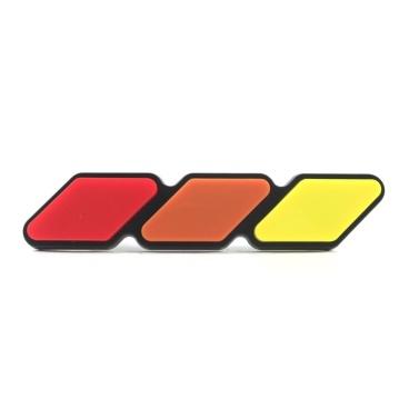 Grille Badge Emblem Decoration Label Replacement for 4Runner Tundra Sequoia Rav4 Highlander