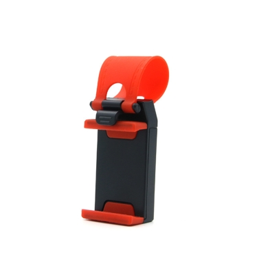Buy Car Steering Wheel Guide Phone Holder Bike Clip Mount Mobile-phone Stand Support