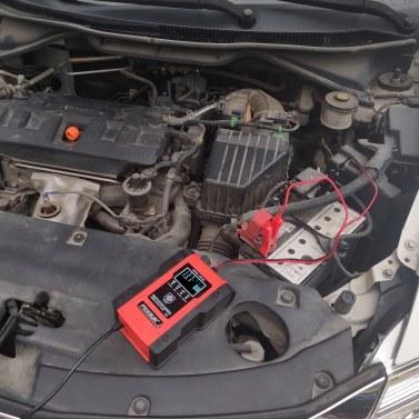 Intelligente Autobatterieladegeräte Tragbare Autozellenladegeräte Motorrad-Autobatterieladegeräte mit LCD-Digitalanzeige