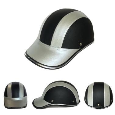 Sommer Motorrad Halbe Helm Baseballmütze Helme für Männer und Frauen Persönlichkeit Leichte Halboffene Gesichts Helm