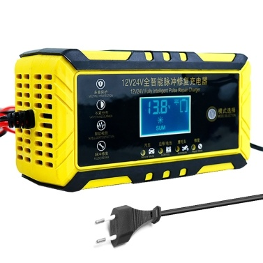 12V 24V Universal Intelligent Repairing Battery Chargers Automatic Car Battery Chargers Multi-function Battery Chargers
