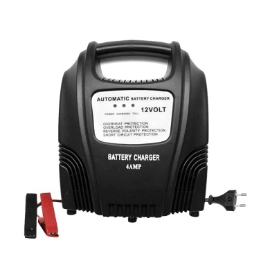 12V  2.4A Smart Fully Automatic Battery Motorcycle & Car Battery Charger AGM GEL WET Lead Acid  Battery Charger