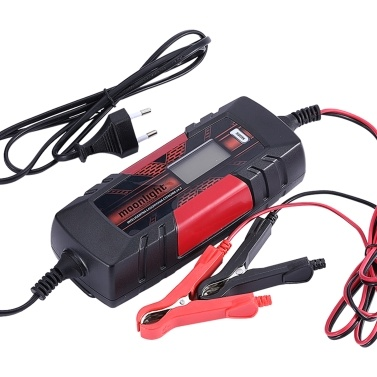 12 V 4.5A 3-Stage Automatic Intelligent Battery Charge Device with LCD Display for AGM GEL SLA WET Batteries