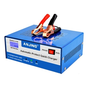 High Power Car Battery Recharger Machine Automatic and Manual Dual Modes Intelligent Repairing Type Battery Charge Tool
