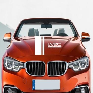 5 Stücke Auto Seitentür Körper Haube Rückspiegel Aufkleber Streifen Aufkleber Racing Decals