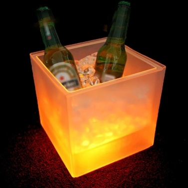 3.5 L Gorgeous Color Changing Light Ice Bucket