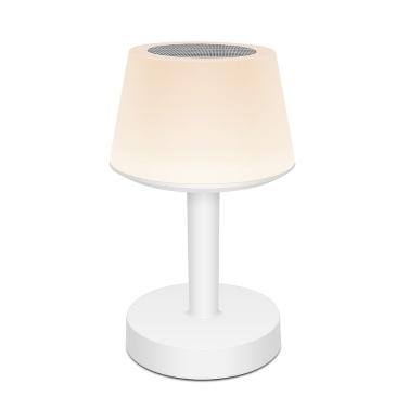 DC5V 2W LED Musik Tischlampe Touch Lampe Kabellose Lautsprecher Bunte Nachtlicht Schreibtischlampe
