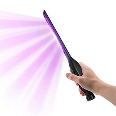 USB Tragbarer UV-Licht-Stick Handheld COB Ultraviolettlampe Einfache Bedienung Mini-Reiniger für Home Office Hotelreisen mit