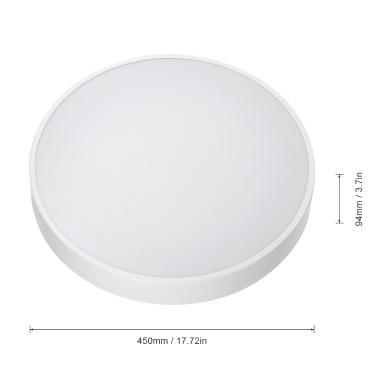 Yeelight C2001 AC220V 50W Intelligent Ceiling Light with Remote Control for Living Room Bedroom Restaurant Cafe