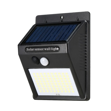 100 LEDs IP55 Eco-friendly Solar Lamp Durable Waterproof Human Body Induction Lamp