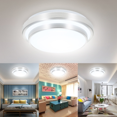15W 24W 30pcs 48pcs LED Circular Round Ceiling Light Fixture,limited offer $20.99