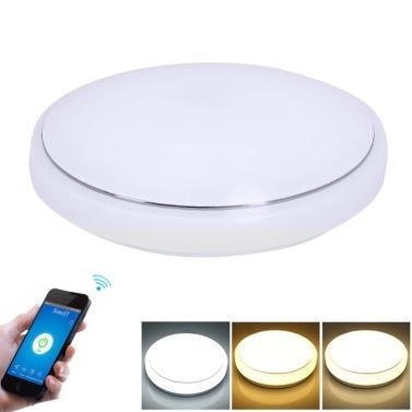24W 72 LEDs WIFI Intelligent APP circulaire circulaire plafond lampe de contrôle seulement € 24.1