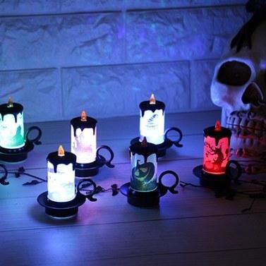 42% de réduction sur les bougies électroniques à LED multicolores 1PCS, seulement € 3,52 sur tomtop.com + livraison gratuite