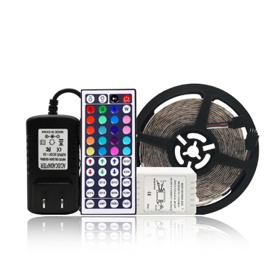 110V 5M  DIY Lighting Strip With Remote Controller and Paster