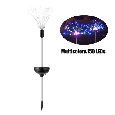 1PCS Solar Powered 90LE-D Lights Copper