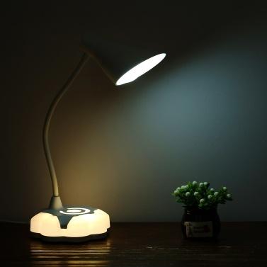 2.8W Flexible Dimmable USB LED Desk Table Lamp 3 Levels Brightness Touch Sensor Control Reading Night Light D C5V