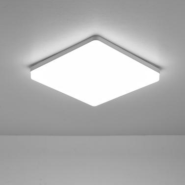 18W 6500-7000K LEDs Deckenleuchte Unterputz Quadratische Deckenleuchte für Küche Schlafzimmer Flur