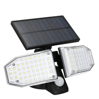 100 LEDs Solarlicht PIR Motion S-Sensor Außenwandleuchte Sensible Lichtsteuerung