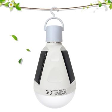 12W solarbetriebene Notfall-LED-Birne