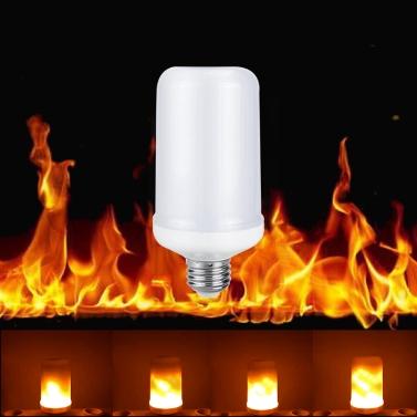 LED-Flamme Flackernde Wirkung Feuer Glühbirne SMD2835 Kreative Dekorative Atmosphäre Lampe für Party Urlaub Geburtstagsgeschenk