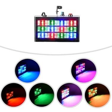 Mini-Blitzlicht-Bühnenlampe AC110-240V 15W 12 LEDs