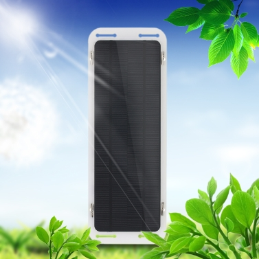 18V 5W tragbares ultra dünnes multifunktionales monokristallines Silikon-Sonnenkollektor