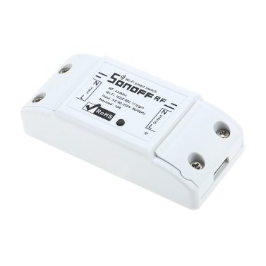 SONOFF WiFi Intelligent Switch RF-Sprachsteuerung mit RF-Empfänger für intelligente Home-Switches mit Automatisierungsmodul für Zeitfunktionen