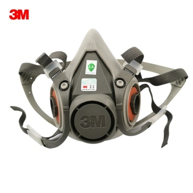 3M 6200 Half Face Gas Mask