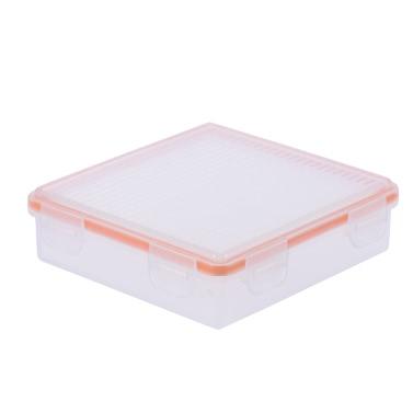 Transparente Hartplastik Wasserdicht Batterieschutz-Kasten-Halter-Aufbewahrungstasche für 18650 (4-Pack) / CR123A Batterie (8-Pack)
