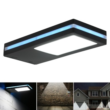 49% OFF 144 LED Outdoor Solar Powered Energy Wall Lamp Light,limited offer $23.99