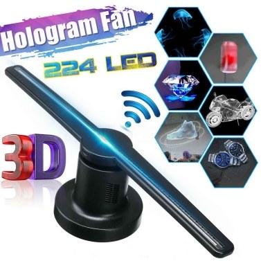 3D holographische Projektor Werbung Fan Projektion Display-Maschine mit WiFi-Funktion