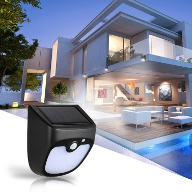 56% OFF 12LEDs Solar Rechargeable Motion Sensor Night Security Wall Light,limited offer $9.99