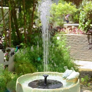 Solar Wasserpumpe Brunnen Garten Landschaft kleiner Brunnen