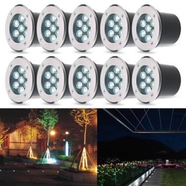 Tomshine 1W 100LM White LED Underground Light Lamp