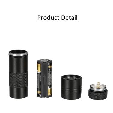 12 LED UV Portable Flash Light