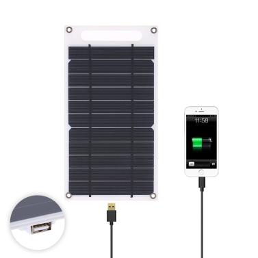 7.8W Portable Ultra Thin Monocrystalline Silicon Solar Panel Charger