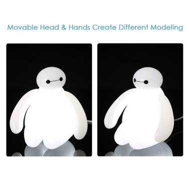 Big Hero Baymax LED Night Light Lamp