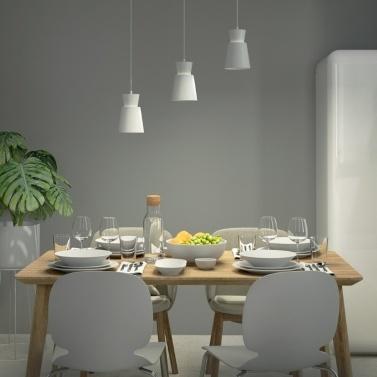 Yeelight YLDL05YL AC220-240V Dreikopf E27 Universal Esstisch Anhänger Licht Kronleuchter Lampe (Xiaomi Ecosystem Produkt)