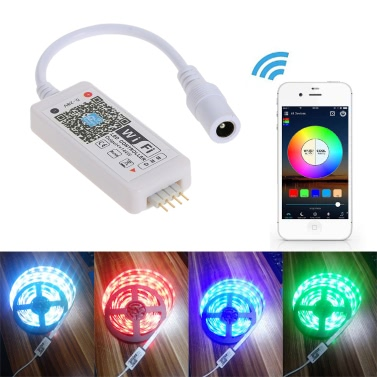 Tomshine DC5-28V Mini RGB Wifi Smart Controller Dimmer para LED Strip Light