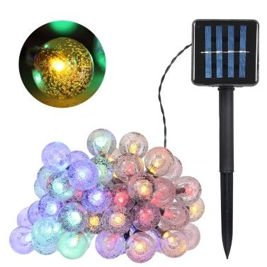 Solarbetriebene Lichterkette