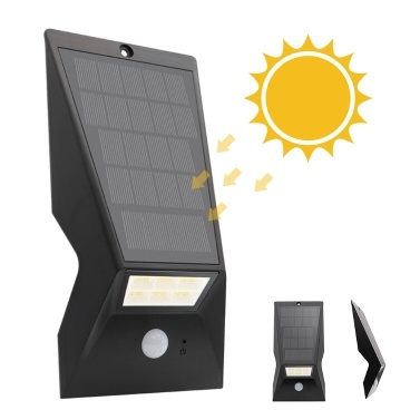 Solar Panel Wall Lamp IP65 Three Lighting Modes