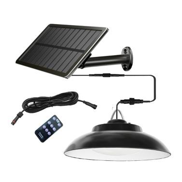 Solarlampe 2,5 W Solarpanel 8 W LED-Licht 48 LED-Lampe Perlen Induktionswandlampe Außenhaus Innenhof Garage Gartenlampe