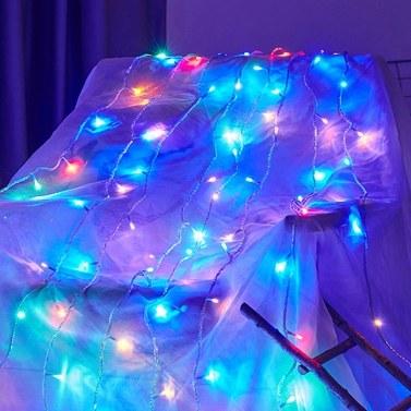 50 luci LED Fairy Lamp USB Ball String Luci decorative per la casa di nozze di Natale